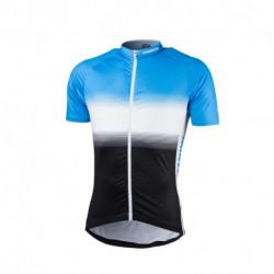 TR-3375SII pánske tričko cyklistické celopotlačené slim fit VALENTINO