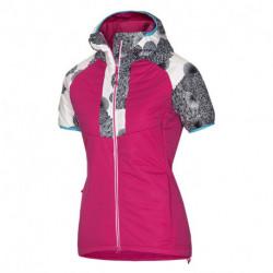 VE-4265SNW dámska SKITOURING vesta aktívny šport zateplená Primaloft® izolácia Eco Black RIKONA