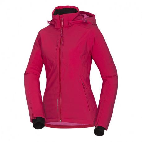 NORTHFINDER dámska bunda zateplená lýžiarský komfort 2L Primaloft® Insulation Eco Black AVIANA