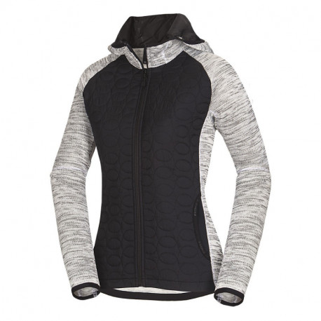 NORTHFINDER women's hybrid jacket knit-combination AYA