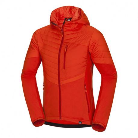 NORTHFINDER men's mid-layer jacket hybrid thermal BRENDEN