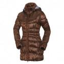 Women's like down jacket metallic-line DULCENA