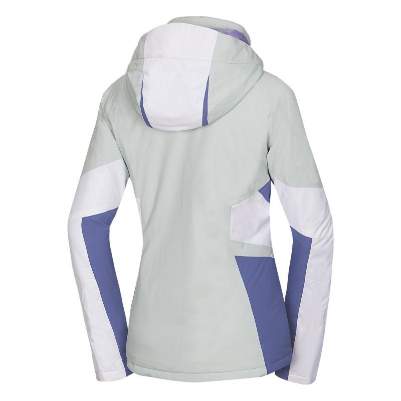 NORTHFINDER dámská bunda zateplená Lyžařské klasická 2L EMERSON - Špičková technická lyžařská bunda s NF® výplní poskytne skvělou ochranu před zimou a sněhovými přeháňkami. Bunda je vybavena i množstvím praktických kapes, ve kterých si můžete uschovat vaše cennosti, brýle, skipass apod. Je elegantní a funkční, ideální na vychutnání si lyžování.