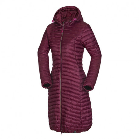 NORTHFINDER women's like down jacket city style very long EMMELINE