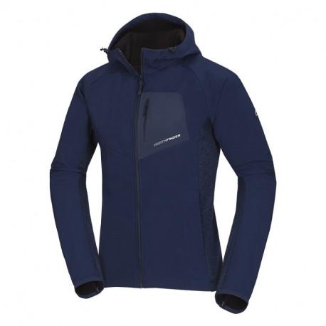 NORTHFINDER men's hybrid jacket ski-touring softshell 3-layer FREDERICIO