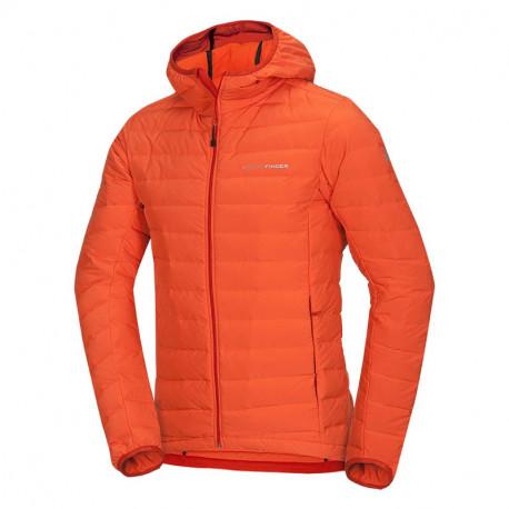 NORTHFINDER men's insulated jacket Primaloft® ThermoPlume Down blend seamless JAYLEN
