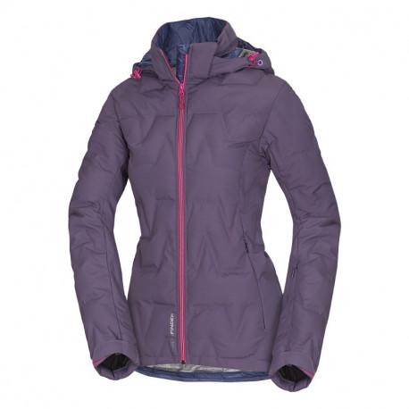 NORTHFINDER dámska bunda zateplená lyžiarsky štýl Primaloft® ThermoPlume ZIG