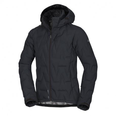NORTHFINDER pánská bunda zateplená lyžařský styl Primaloft Insulation Downblend ZAG