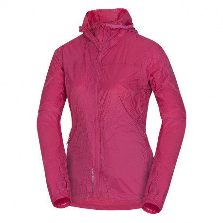 NORTHFINDER women's jacket stowable all-weather 2L NORTHKIT
