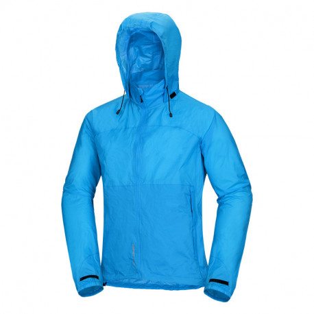 NORTHFINDER pánská bunda stowable multisportovní 2-layer NORTHKIT