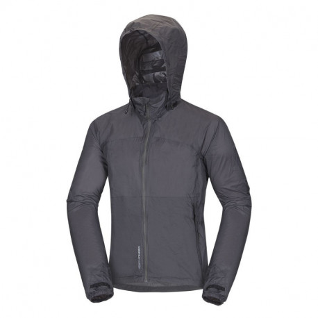 NORTHFINDER men's stowable jacket multisport 2-layer NORTHKIT