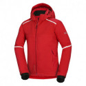 Pánska bunda zateplená lýžiarský komfort 2L Primaloft® Insulation Eco Black SAMUEL