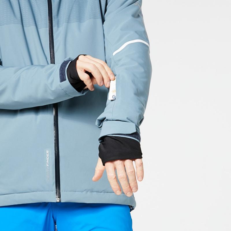 NORTHFINDER pánska bunda zateplená lýžiarský komfort 2L Primaloft® Insulation Eco Black SAMUEL - NORTHFINDER pánska bunda zateplená lýžiarský komfort 2L Primaloft® Insulation Eco Black SAMUEL
