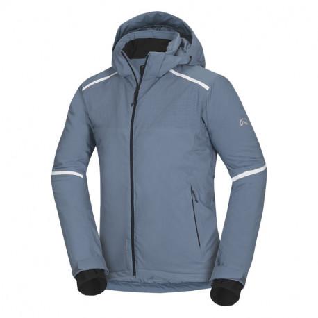 NORTHFINDER pánská bunda zateplená lyžařská komfort 2L Primaloft® Insulation Eco Black SAMUEL