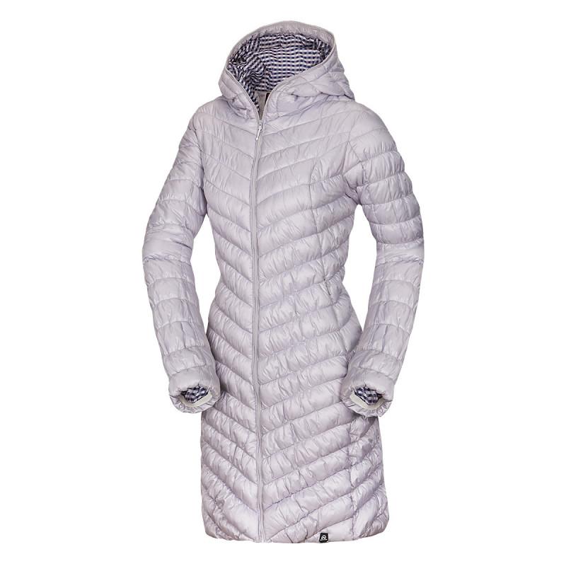NORTHFINDER dámska bunda na bežné nosenie dlhá VANISA - NORTHFINDER dámska bunda na bežné nosenie dlhá VANISA