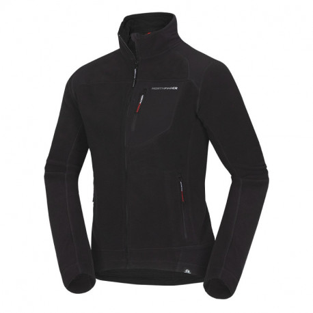 NORTHFINDER men's technical sweater NorthPolar® Fleece 300 reinforced ANDRE