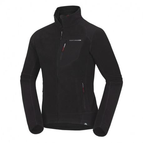 NORTHFINDER men's technical sweater NorthPolar® Fleece 300 reinforced ANDRE