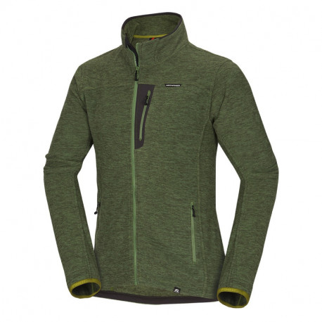 NORTHFINDER men's thermal sweater melange fleece NorthPolar® Fleece 200 JAIME