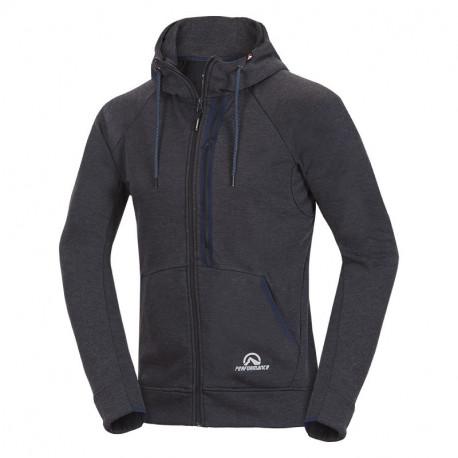 NORTHFINDER men´s sweater Polartec® Thermal Pro® Denim Flux JELENEC