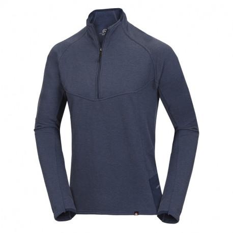 NORTHFINDER men's sweater Polartec® Thermal Pro® Denim Flux active fit MINCOL