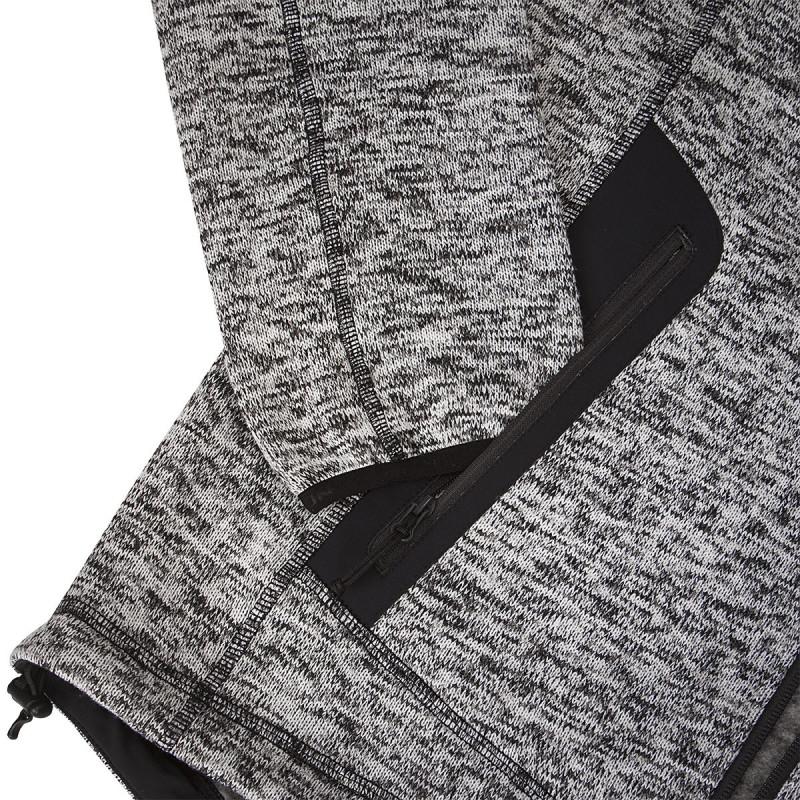 MI-3308OR men's knitted sweater melange NEOEL - NORTHFINDER pánska mikina pletená melanžová NEOEL