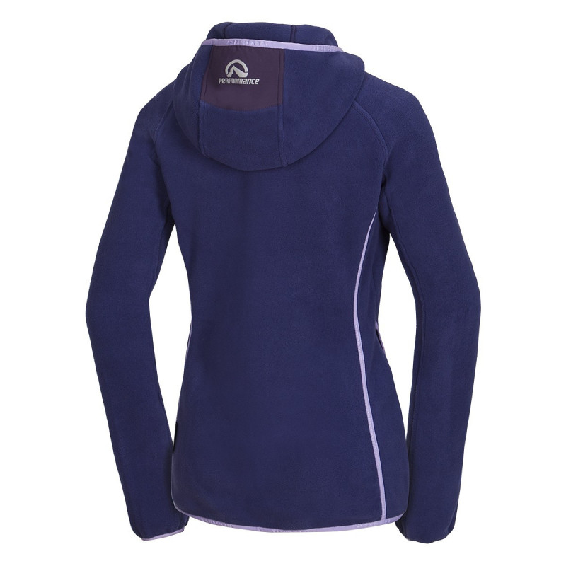 NORTHFINDER women's sweater Polartec® Classic Micro® 200 SPALENA - The material Polartec® Classic Micro reliably heated at cooler temperatures, and also provides sufficient moisture. The focus is mainly on functionality with sophisticated technical details: shaped sleeves, bonding technology, etc. This jacket is suitable for tourism but also for casual wear during cold days.