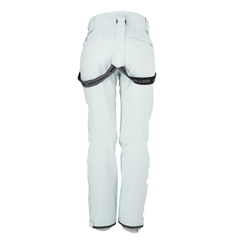 NORTHFINDER dámské kalhoty zateplené sjezd 2L DANIELLA - Technické nepromokavé kalhoty jsou vhodné pro lyžování, ale hodí se i na snowboard. Poskytují vysokou ochranu v nepříznivém počasí, mají praktické odnímatelné šle, zateplené kapsy a mnoho dalších vychytávek. Zajistí maximální volnost v pohybu za každého počasí v jakémkoliv terénu.