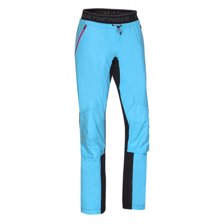 NORTHFINDER women's ski-touring trousers active sport Polartec® Power Stretch® PRO GORGINA