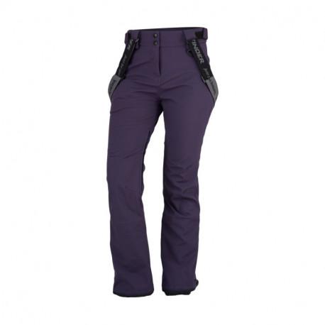 NORTHFINDER dámské kalhoty aktivní styl softshell 3L ISABELA