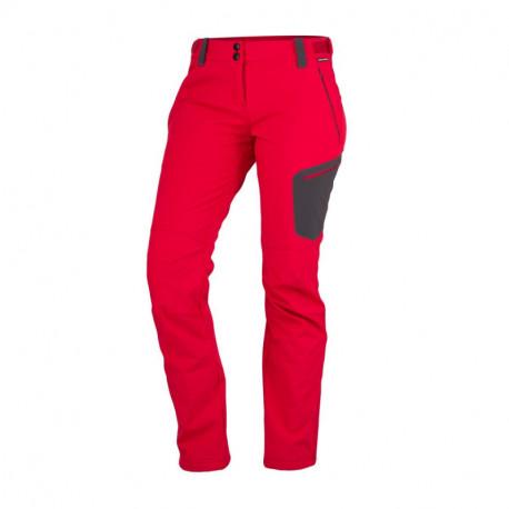 NORTHFINDER dámske nohavice outdoorové softshellové 3L PHOEBE