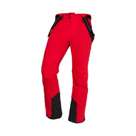 NORTHFINDER men's insulated trousers ski dynamic 2-layer Primaloft® Insulation Eco Black WENOL