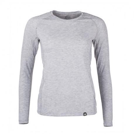 NORTHFINDER women's merino t-shirt long sleeve CAITLIN