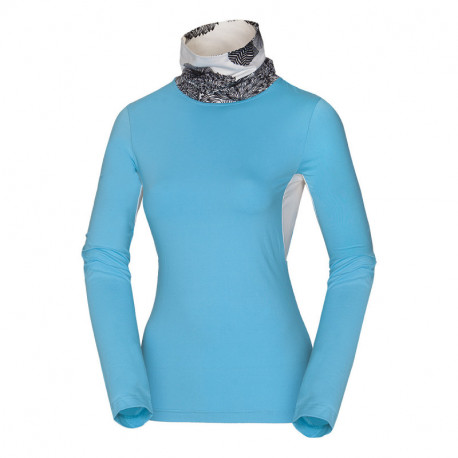 NORTHFINDER women's ski-touring t-shirt Thermal stretch FOANA