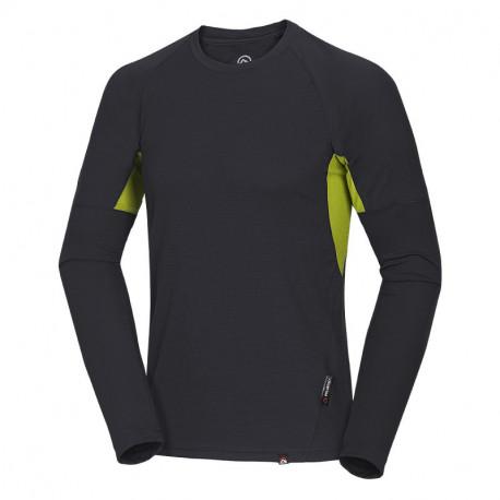 NORTHFINDER pánske tričko Polartec® Power Dry® GRUN