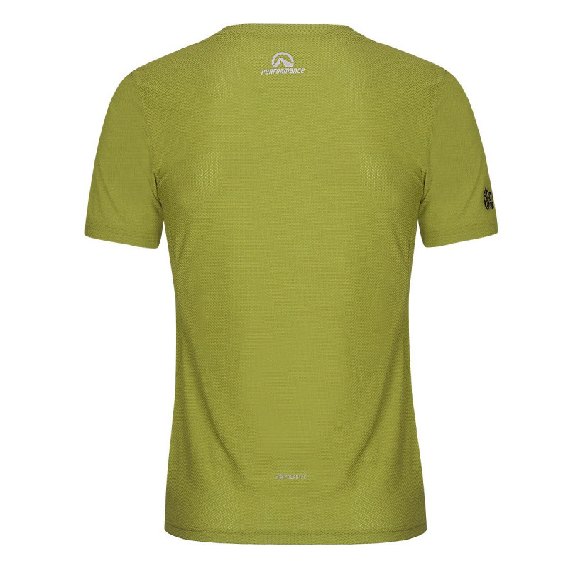 NORTHFINDER men's t-shirt Polartec® Power Dry® SUCHY - T-shirt's Polartec® Power Dry® material two-component design transports even more body moisture as water vapour. Lightweight, fast drying, and easy care set it apart from other materials. These properties are retained throughout its lifetime. It is designed for running, trekking, and various outdoor sports in cold and warm weather.