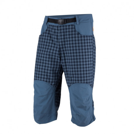 NORTHFINDER men´s free zone shorts check style 3/4 MAURICIO