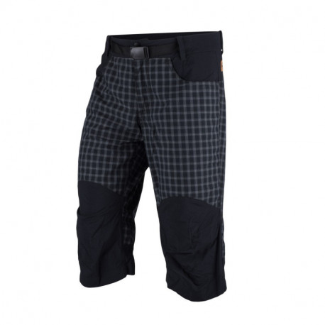 NORTHFINDER men´s free zone shorts check style 3/4 MAURICIO