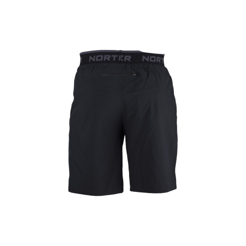 NORTHFINDER men's active shorts BOBBY - Multifunctional elasticated shorts of water permeable material provide almost unlimited freedom of movement. These shorts are ideal for all summer sporting activity - running, cycling, rollerblading, as well as everyday wear.