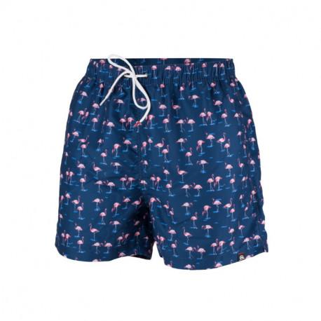 NORTHFINDER pánské šortky plážový styl celopotištěné CALMYN
