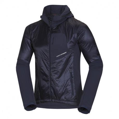 NORTHFINDER men´s insulated jacket lightweight Primaloft® Insulation Eco Black insulation RODRIGO