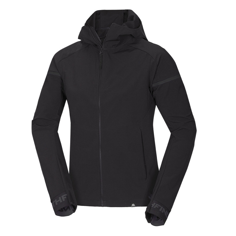 NORTHFINDER men's active jacket bonded style FRANK - Training jacket with attractive cut and functional features is designed for those who love functional sportwear. Ideal for running, cycling, rollerblading, and other sport activities.
