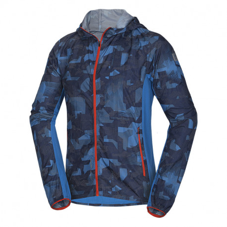 NORTHFINDER men's lightweight jacket allowerprint DEON