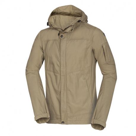NORTHFINDER pánská bunda pro každodenní nošení s kapucí LERON