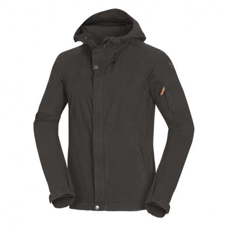NORTHFINDER men's everyday jacket cotton style with hoodie LERON