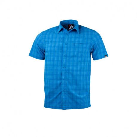 NORTHFINDER pánska košeľa technický outdoor krátky rukáv CASEN