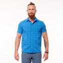 Men's technical outdoor shirt short sleeve CASEN