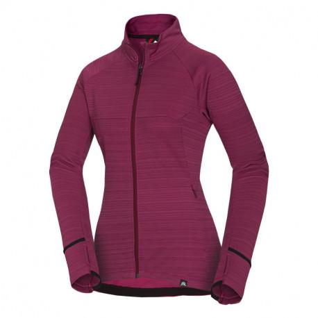 NORTHFINDER women's outdor sweater melange strip MAIA