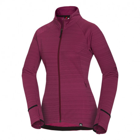 NORTHFINDER women's outdoor sweater melange strip MAIA