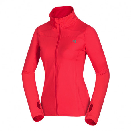 NORTHFINDER women's running sweater active style and stretch LOMYSA