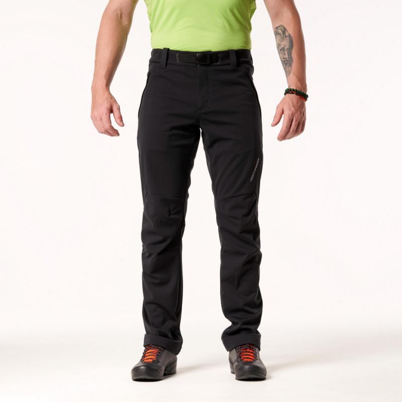 NORTHFINDER pánské kalhoty strečový-softshell styl outdoor 3 vrstvé ROYCE - Technické outdoorové kalhoty nabízejí 3vrstvý softshellový materiál, který ochrání před větrem. Disponují skvělou prodyšností a zároveň jsou dostatečně odolné a připravené i na náročné túry v chladném období.